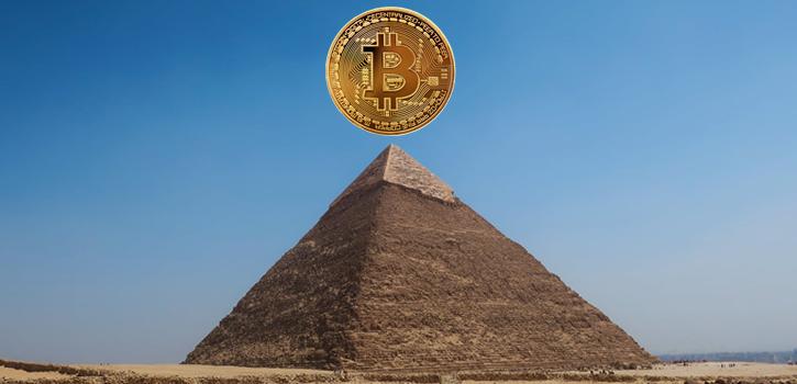 Bitcoin Mythe Pyramidespel