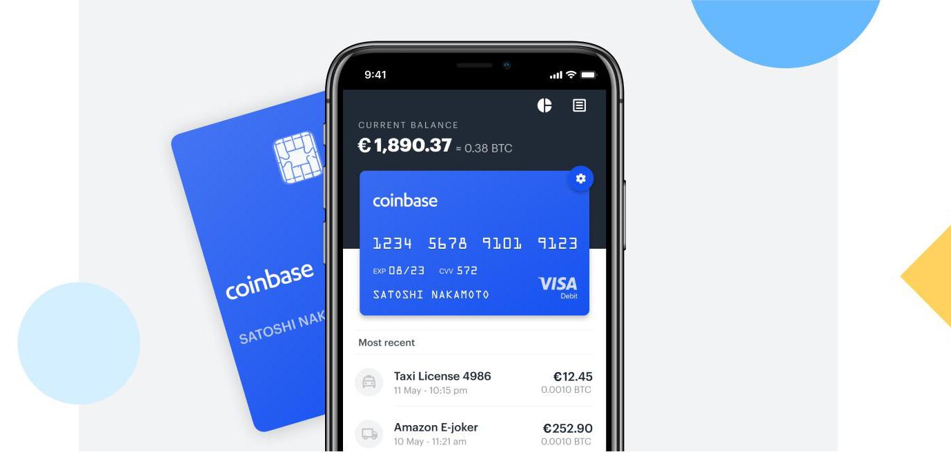 Coinbase lanceert betaalpas voor cryptocurrency in Nederland