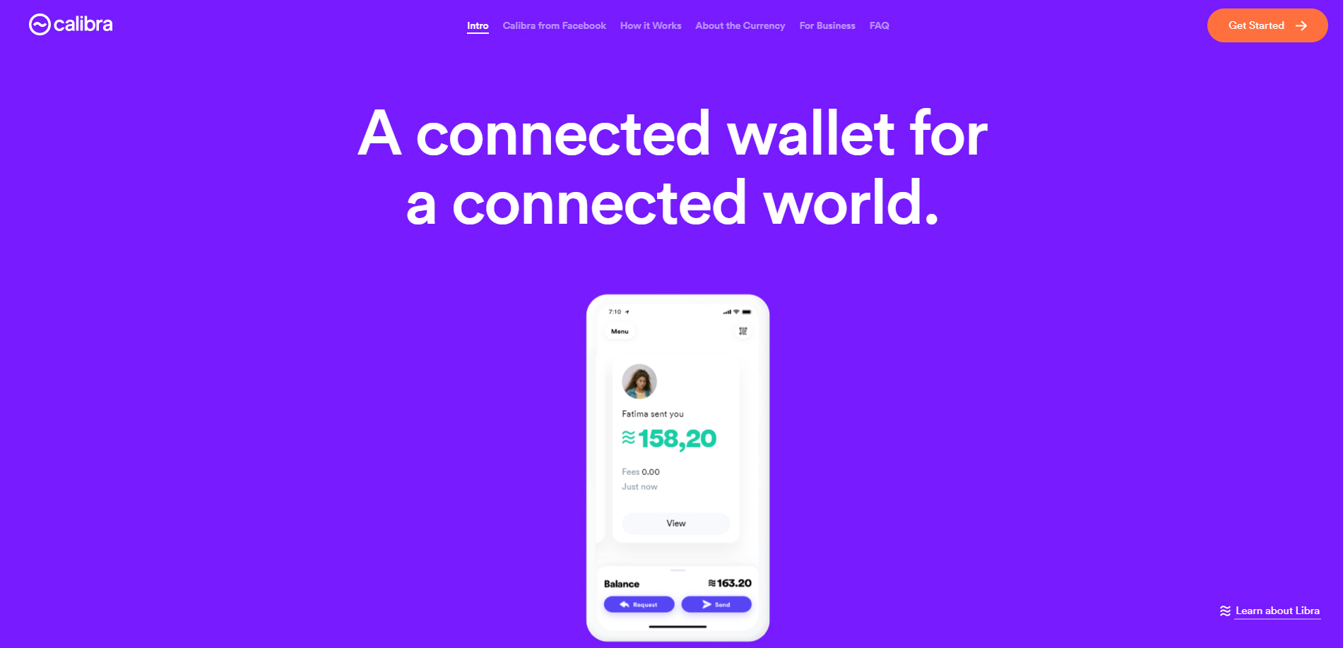 Facebook Libra cryptocurrency platform Calibra