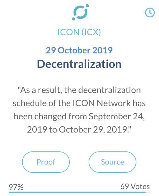 ICON ICX decentralization
