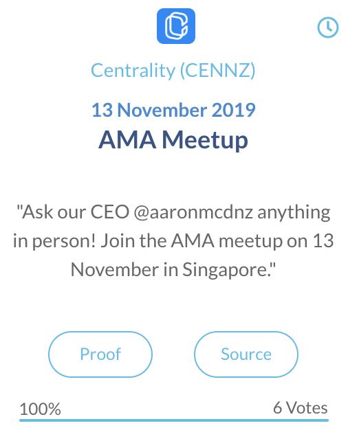 Centrality CENNZ AMA Meetup