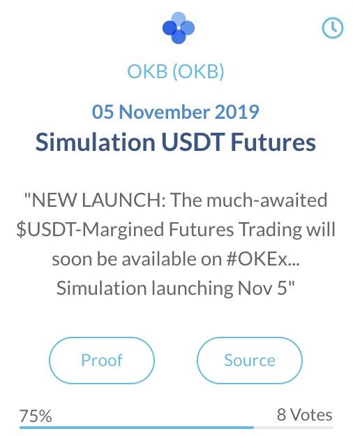 OKB USDT Futures simulatie