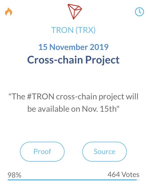 Tron TRX Cross-chain Project