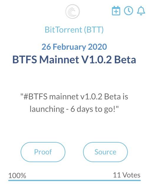 BitTorrent BTT Mainnet V1.0.2 Beta