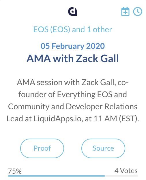 LiquidApps DAPP AMA met Zack Gall
