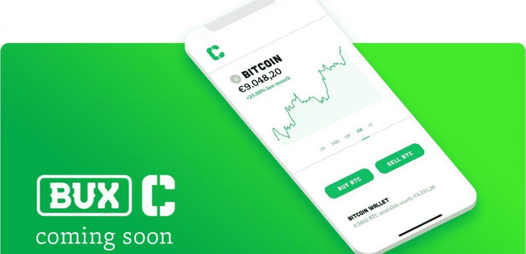 Bux Crypto lancering