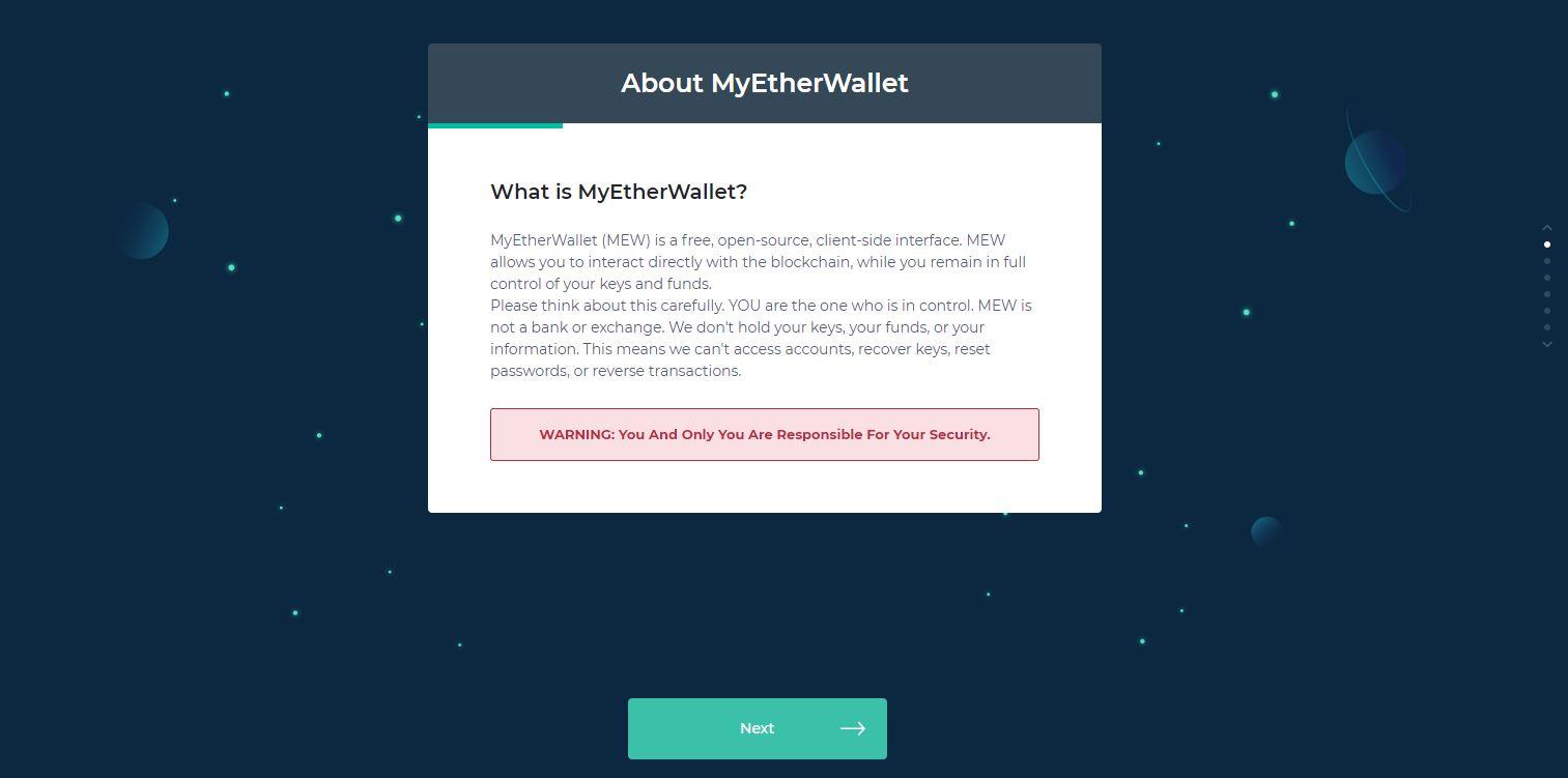Hoe kan ik een My Ether Wallet aanmaken? 2