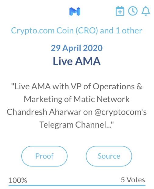 Matic Live AMA