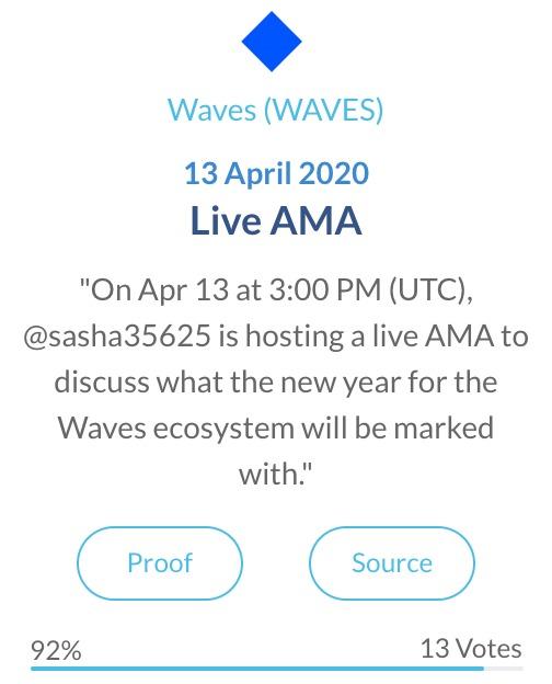Waves Live AMA