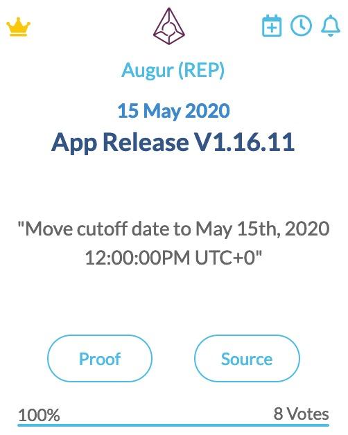 Augur App Release