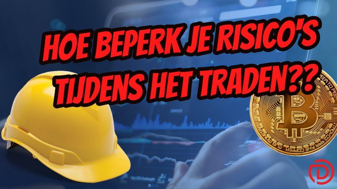 Hoe beperk je risicos bij het traden
