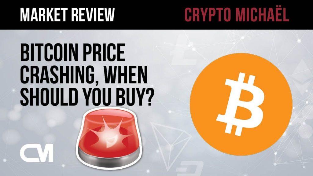 Bitcoin prijs daalt wanneer kun je het beste kopen
