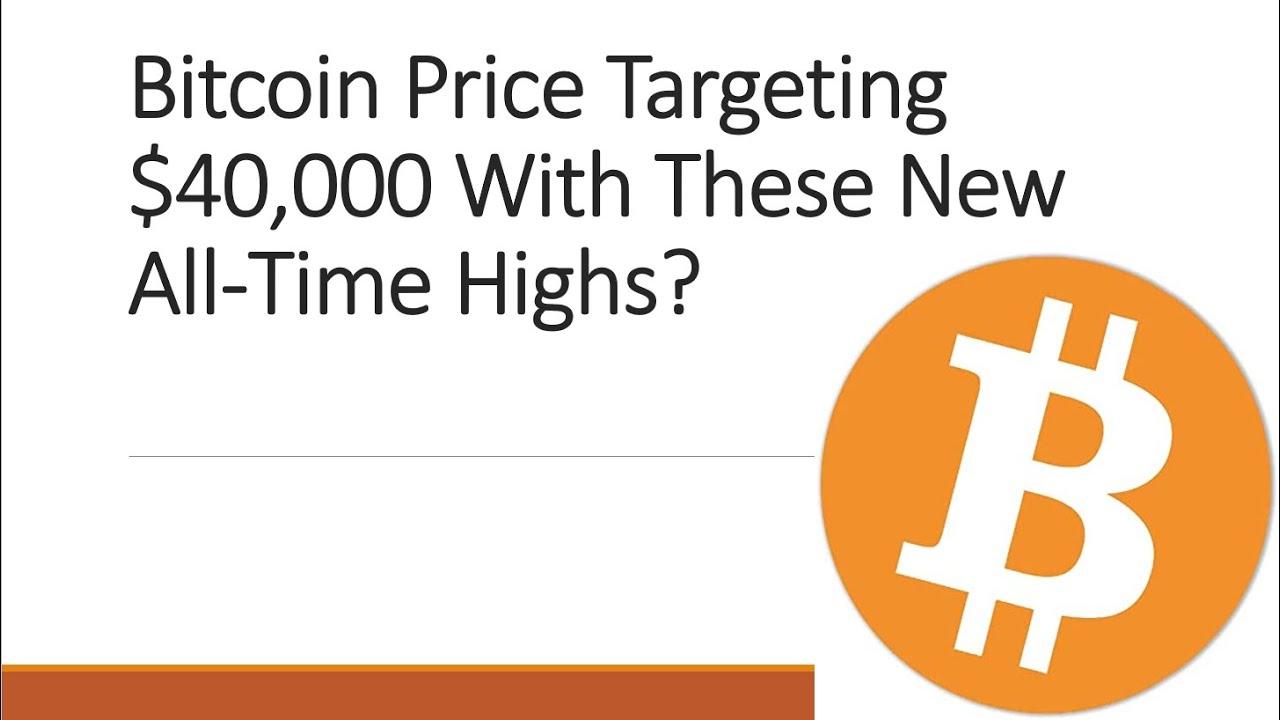 Gaat Bitcoin naar 40000 dollar