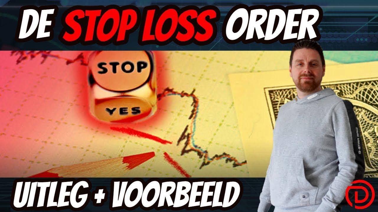 Hoe werkt een stop loss