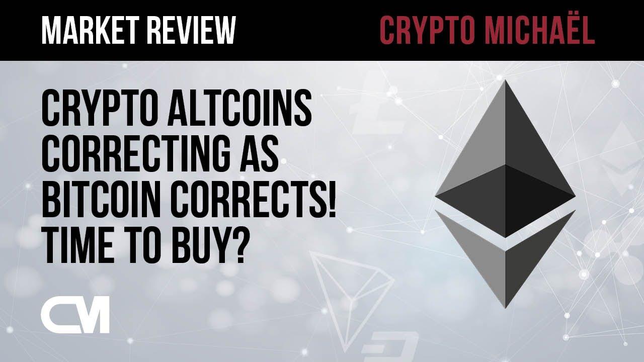 Altcoins corrigeren door Bitcoin correctie tijd om te kopen