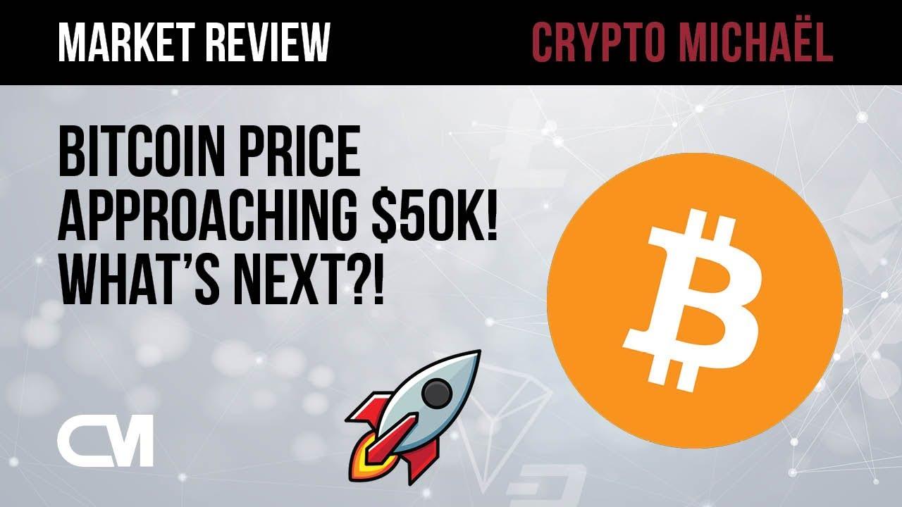 Bitcoin prijs richting 50000 dollar wat kunnen we verwachten