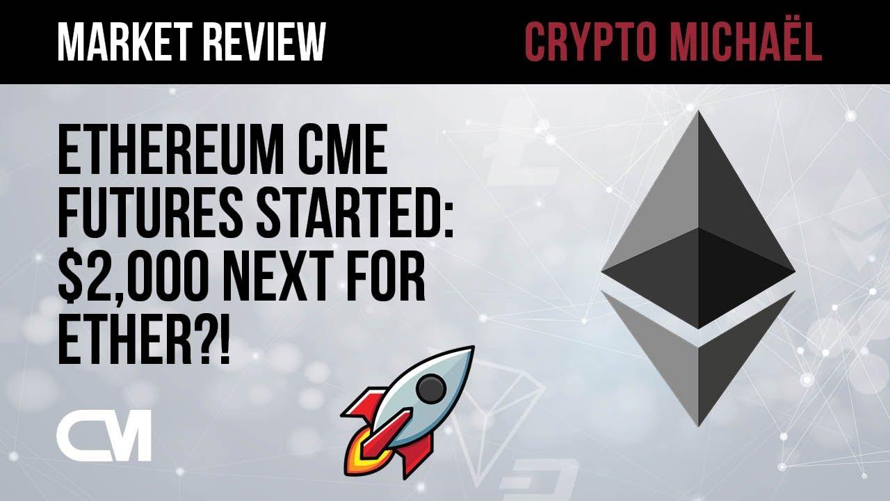 Ethereum CME Futures gelanceerd gaat ETH naar 2000 dollar