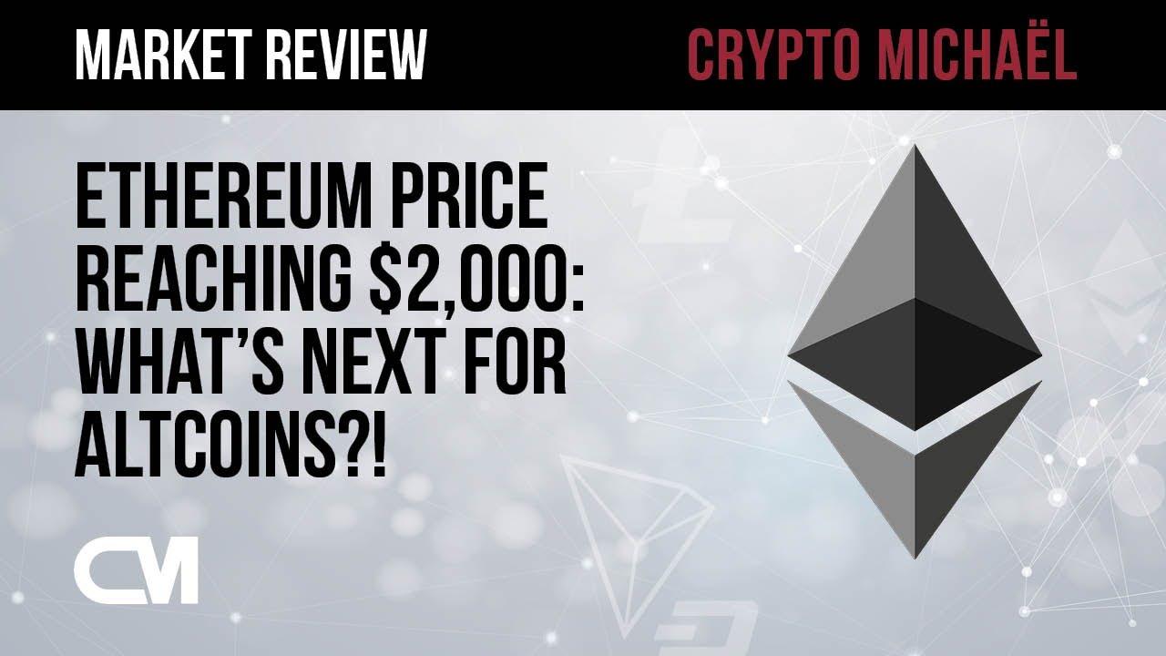 Ethereum richting 2000 dollar wat kunnen we verwachten voor altcoins