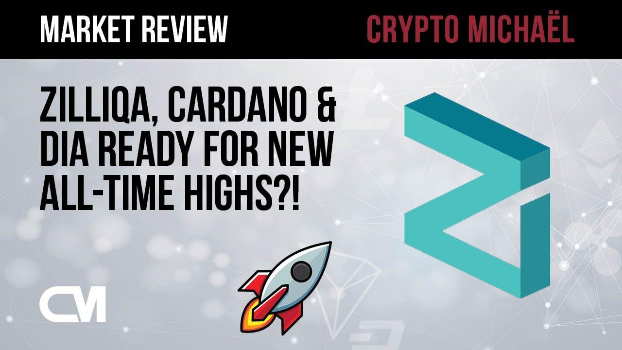 Gaan Zilliqa Cardano en DIA naar een nieuwe all time high