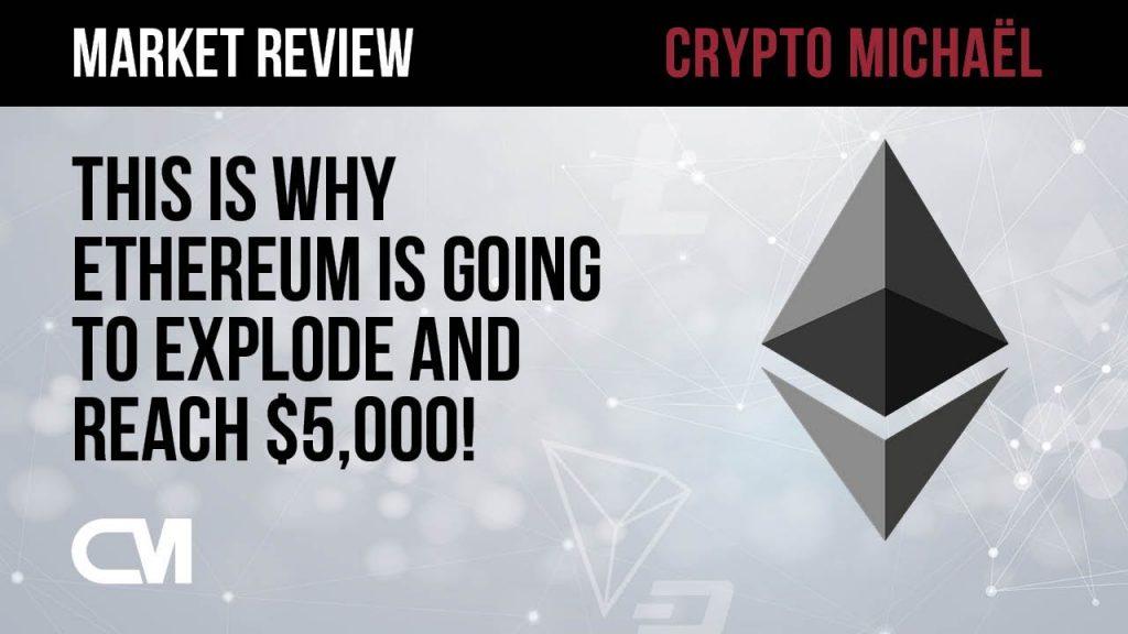 Hierom gaat de Ethereum koers naar 5000 dollar