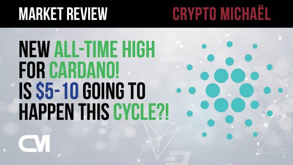 Nieuwe all time high voor Cardano gaan we deze cyclus naar 5 tot 10 dollar
