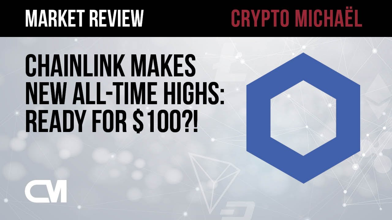 Nieuwe all time high voor Chainlink nu richting 100 dollar