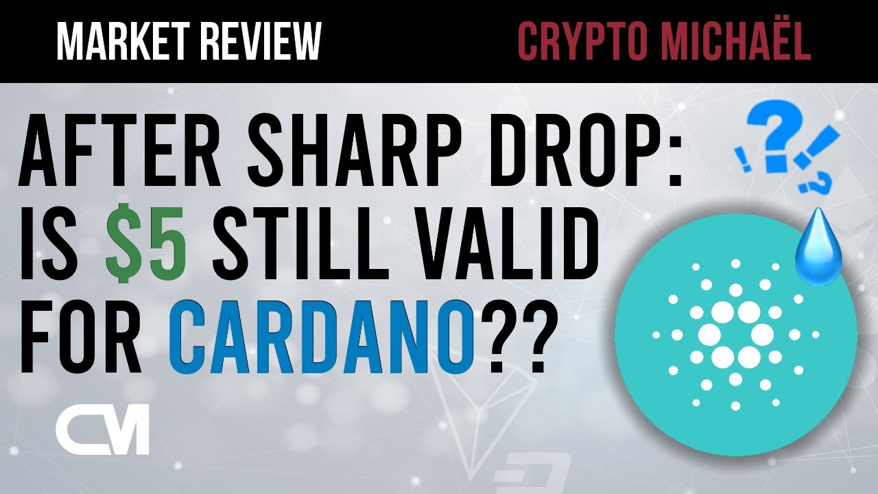 Cardano daalt na listing op Coinbase is 5 dollar nog steeds mogelijk