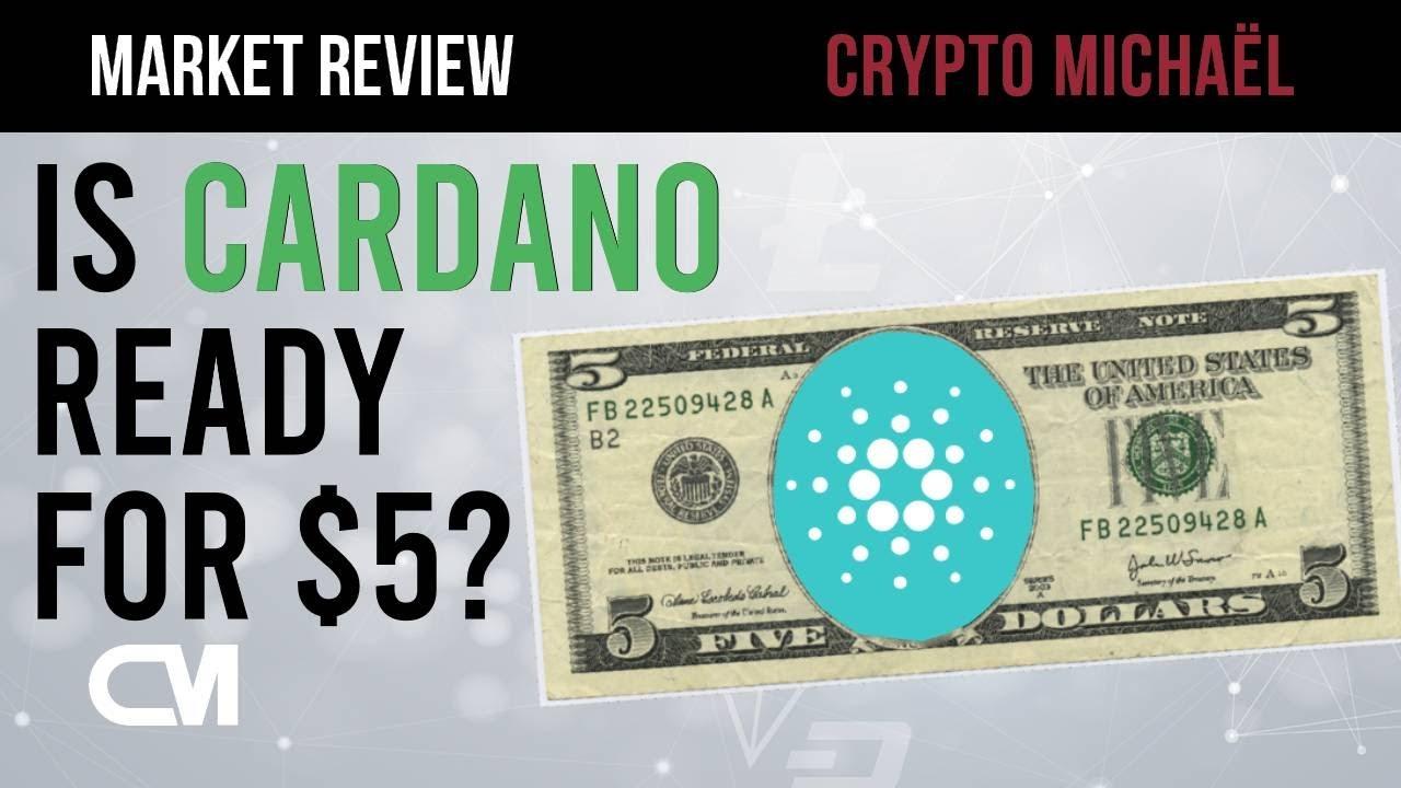 Cardano heeft de bodem bereikt klaar voor 5 dollar