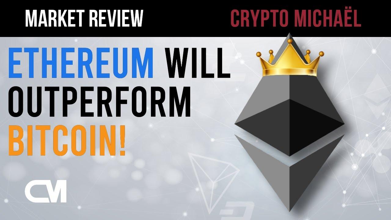 Dit is waarom Ethereum beter gaat presteren dan Bitcoin