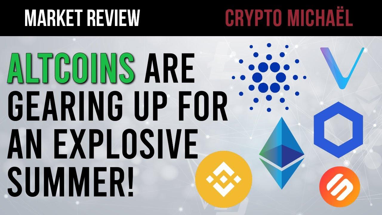 Gaan de crypto altcoin koersen ontploffen deze zomer