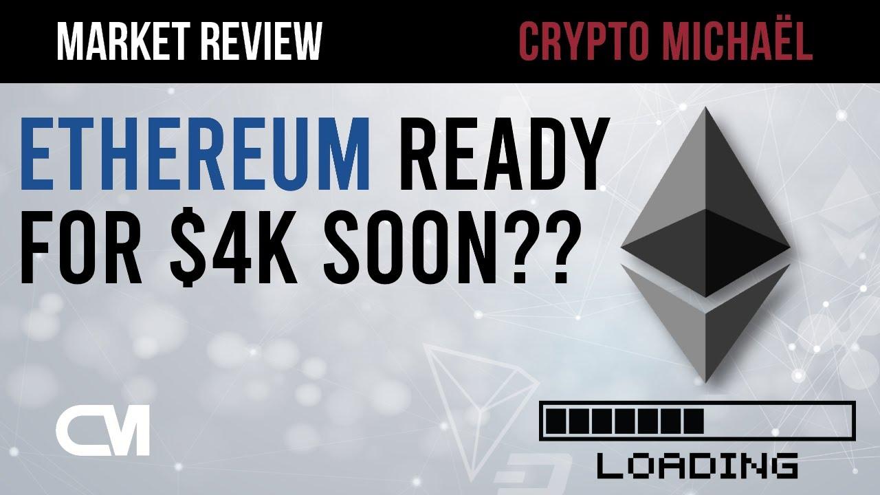 Nieuwe bodem voor Bitcoin is Ethereum klaar voor 4000 dollar