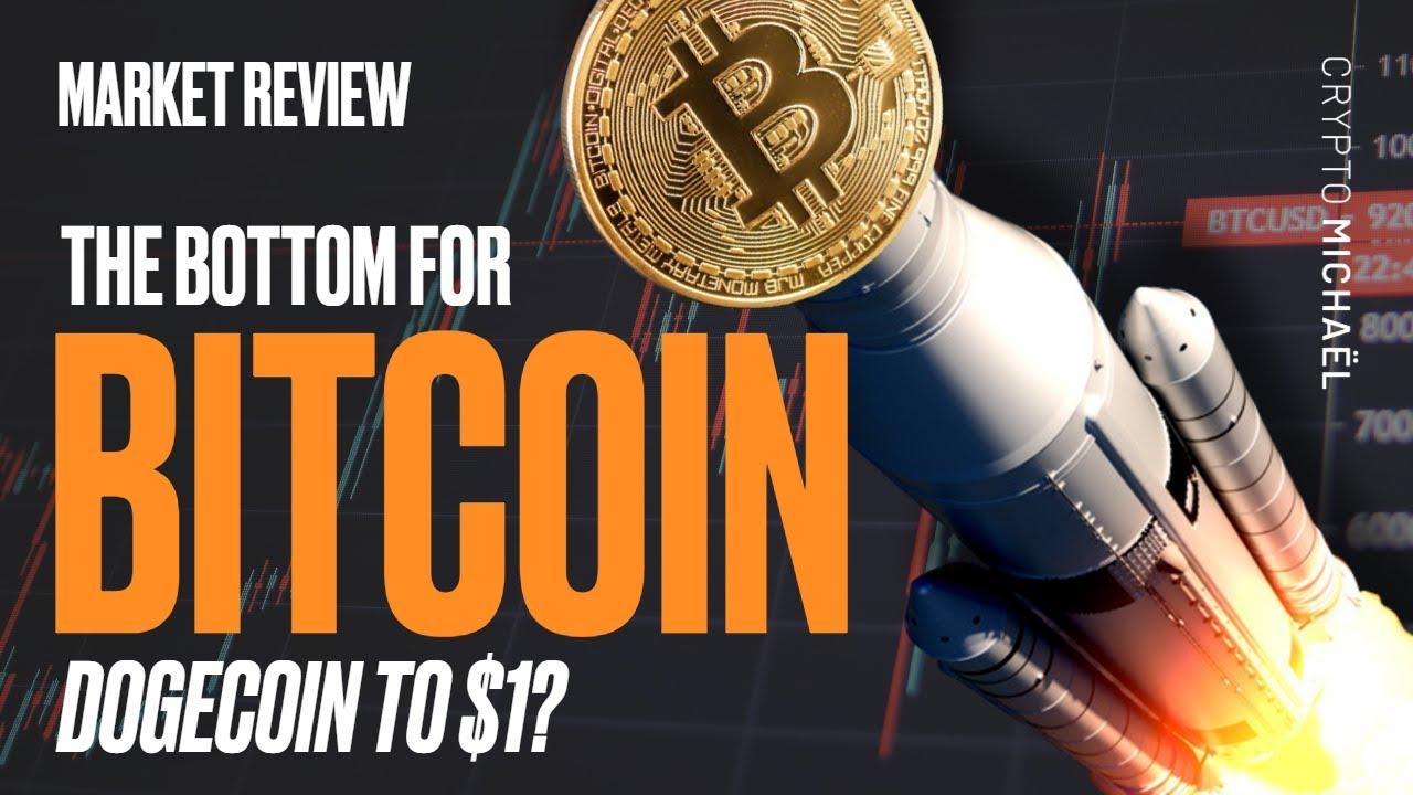Is dit de bodem voor Bitcoin en gaat Dogecoin naar 1 dollar