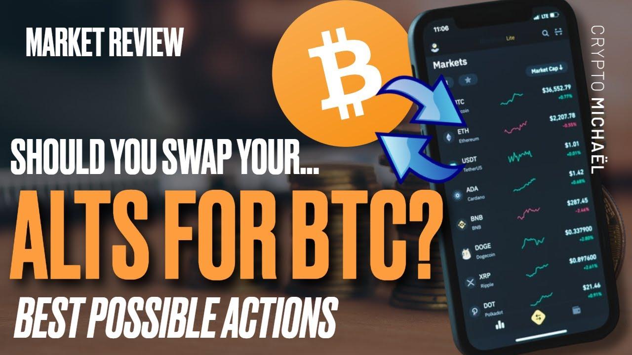 Is het verstandig om je altcoins te verkopen voor bitcoin