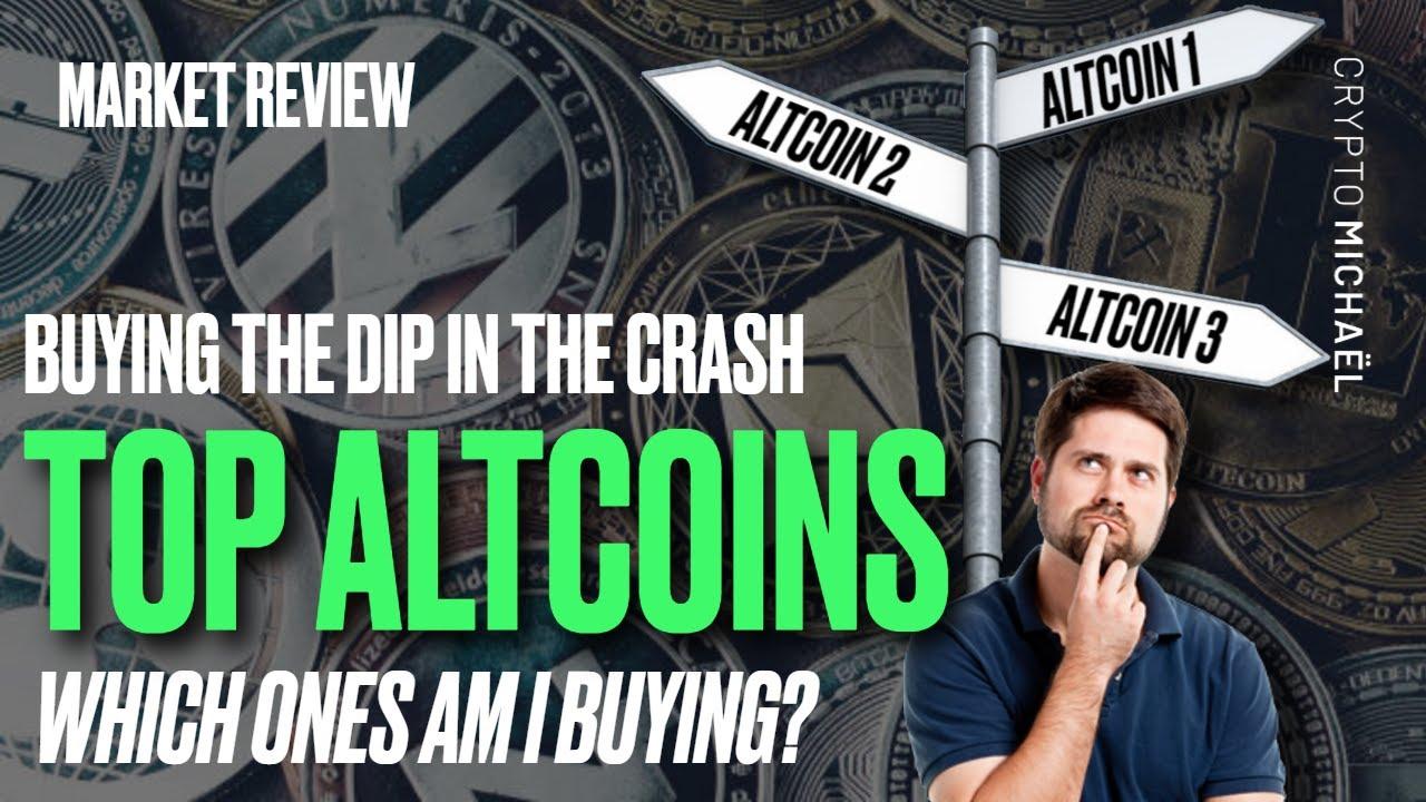 Wat zijn de beste altcoins om te kopen tijdens de crypto crash