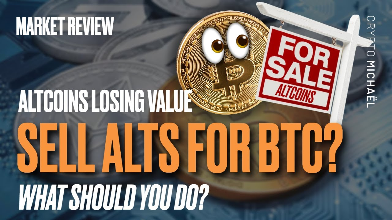 Altcoins hebben veel waarde verloren moet je ze nu verkopen voor Bitcoin