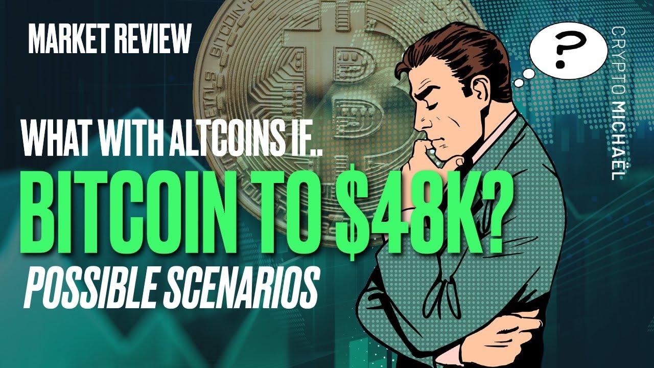 Wat gebeurt er met altcoins als Bitcoin naar 48000 dollar gaat