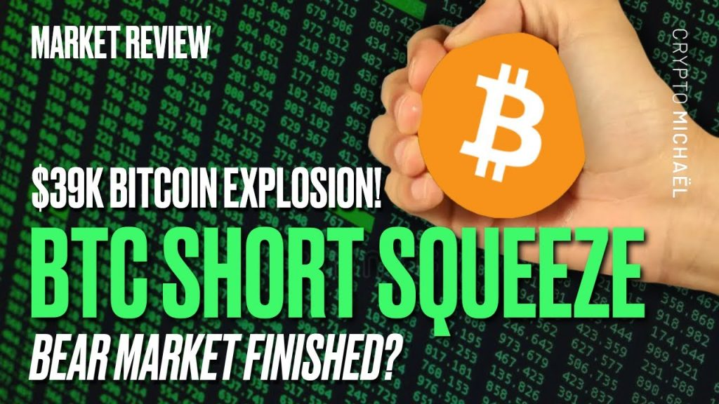 Bitcoin knalt naar de 39000 dollar is de bearmarkt voorbij