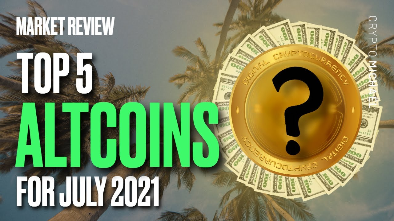 top 5 beste crypto altcoins in juli 2021