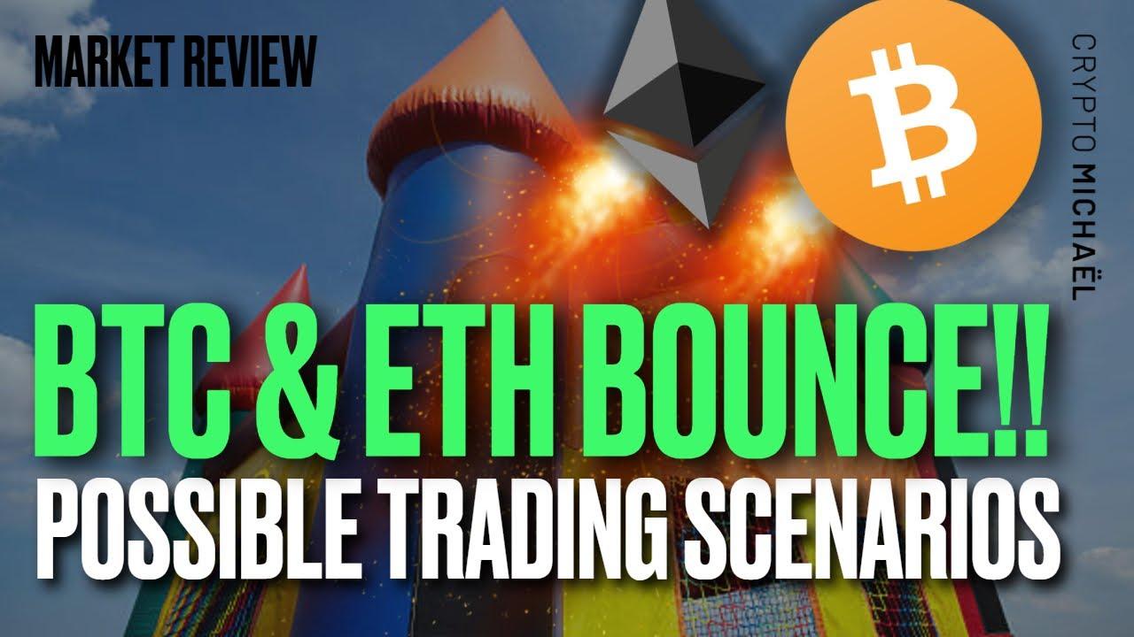 Bitcoin en Ethereum springen omhoog dit zijn de mogelijke scenarios