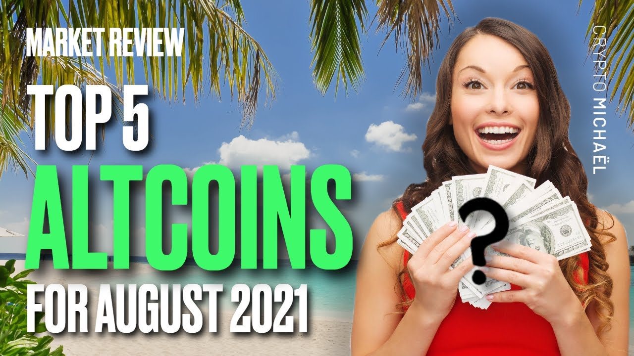 Top 5 beste crypto altcoins in augustus 2021