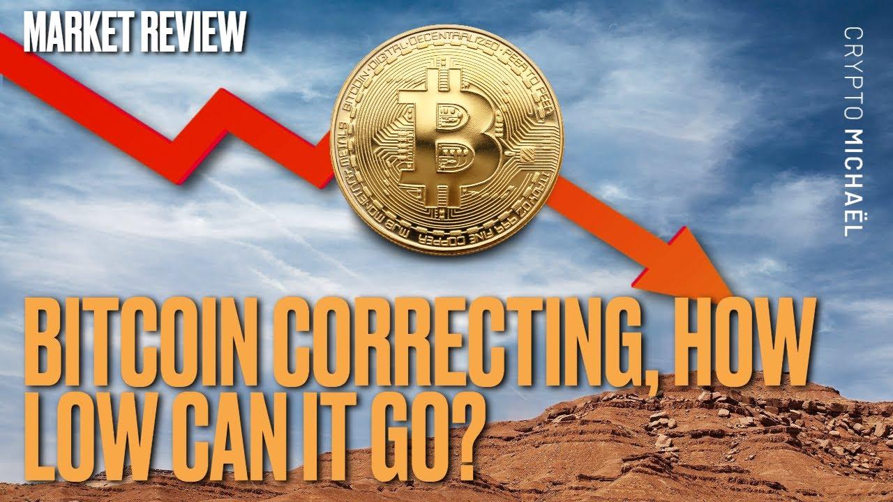 Bitcoin correctie gaan we naar 35000 dollar of is dit de bodem