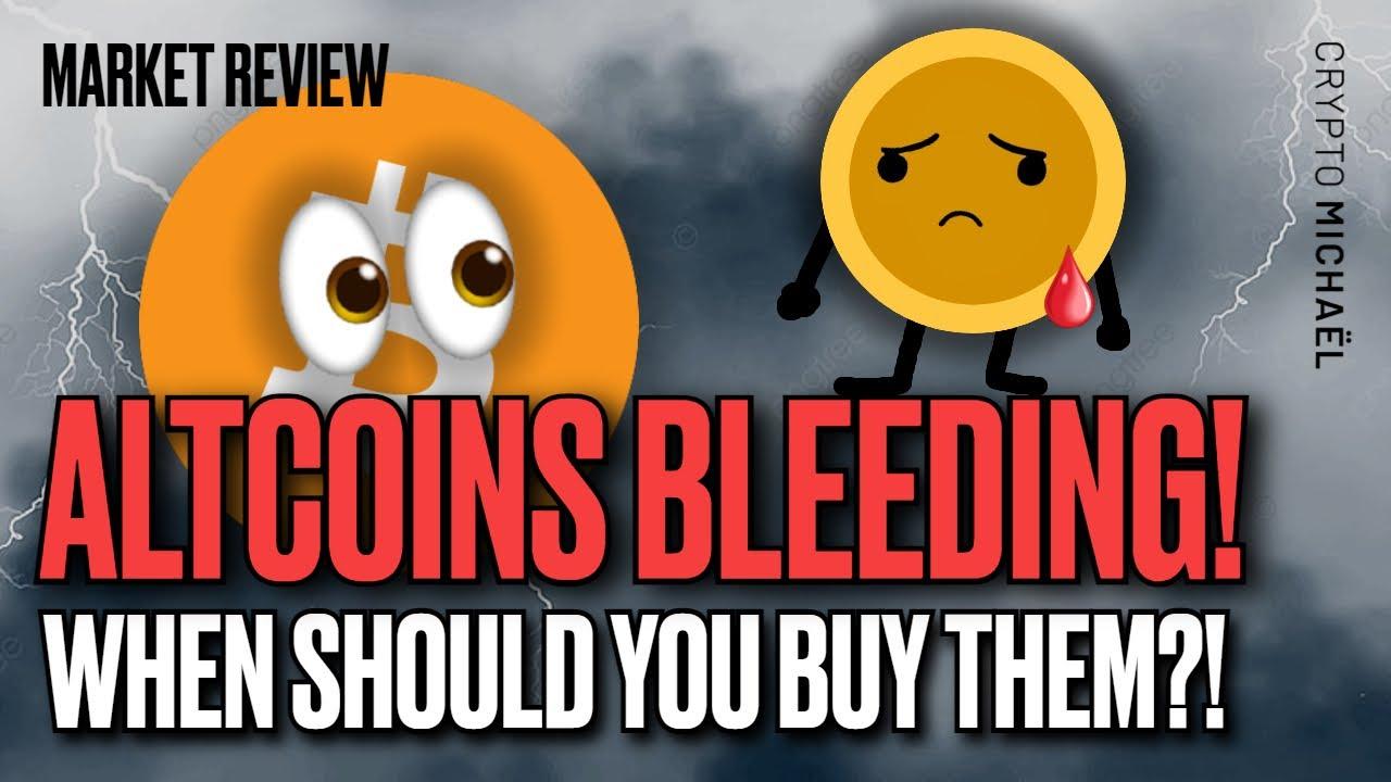 Altcoins in het rood wat is het beste moment om te kopen
